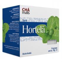 Chá de Hortelã Natural Cx10 Sachês de 1g - Chá mais