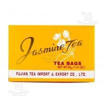 Chá de Jasmin - Jasmine Tea Fujian 40g (20 Sachês de 2g) Importado Fujian -