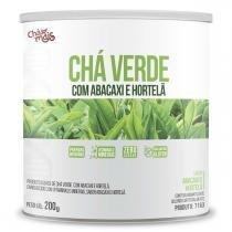 Chá Verde com Abacaxi e Hortelã (200g) - Chá Mais -