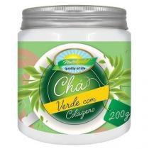 Chá Verde com Colágeno - 200g -  Nutri Gold -