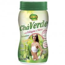 Chá verde com colágeno e stévia 220g Limão Unilife -