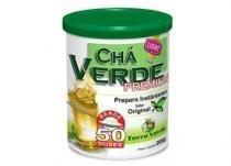 Chá verde premium 200g - terra verde sabor maracujá -