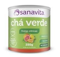 Chá Verde - Sanavita - Frutas Cítricas - 250g - Sanavita