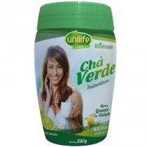 Chá verde Sóluvel 220g sabor Limão Unilife - unilife