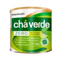 Chá Verde Solúvel Limão Zero - 250 gramas - Maxinutri -