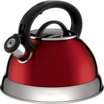 Chaleira Colors Boiler Vermelho 2,8 l - Euro