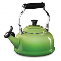 Chaleira com apito Le Creuset verde kiwi 1,6 litros - 16440 - Le Creuset