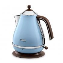 Chaleira Elétrica Delonghi Icona Vintage 1,7l Aço Inox Azul 127v KBOV1501.AZ -