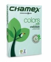 Chamex Color 21x29,7cm 75gr A4 Verde 500 Folhas - 952814