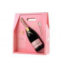 Champagne Magnum Moët Rosé Impérial Love Case 1500ml - Moet  chandon