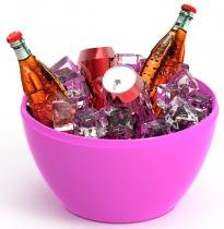 Champanheira Oxy rosa - Im In