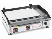Chapa profissional com prensa 65 cm x 45 cm - itajobi fogoes - Itajobi fogões