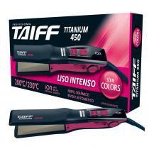 Chapa Taiff Titanium 450 Colors Pink Action Bivolt -