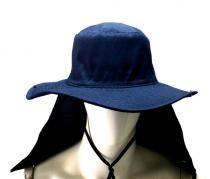 Chapéu Australiano C/ Proteção de Nuca - Suporte gpf