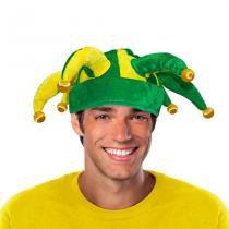 Chapéu Bobo da Corte Verde e Amarelo Brasil CP210 - Festabox
