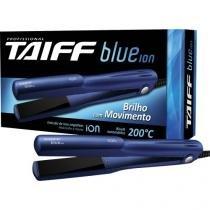 Chapinha prancha alisadora de ceramica blue ion bivolt azul taiff - Taiff