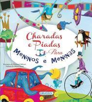 Charadas E Piadas Para Meninos E Meninas - Girassol - 1