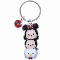 Chaveiro Mickey Minnie Pato Donald Tsum Tsum - Disney -