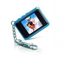 """Chaveiro Porta-Retratos Digital c/ LCD de 1.5"""" DP151 COBY - Azul - Coby"""