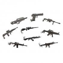Chaveiros Rifles Metralhadoras e Pistolas Tático Decokey Nautika -