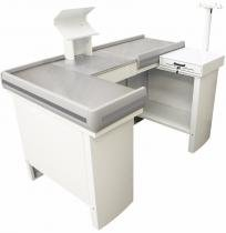 Checkout Metálico INNAL com Kit para Automação 1,50 MT - Branco -