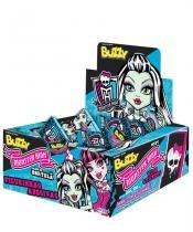 Chiclete Buzzy Hortelã Monster High 40 unidades - Festabox