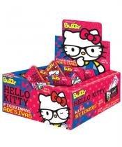 Chiclete Buzzy Tutti Frutti Hello Kitty 40 unidades - Festabox