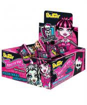 Chiclete Buzzy Tutti Frutti Monster High 40 unidades - Festabox