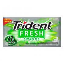 Chiclete Trident Fresh Limão Ice 8g -