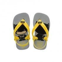 d2bc431792 Chinelo havaianas baby herois batman cinza -
