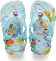 3cda7bc66de Chinelo Havaianas Princesas Baby 21 Ice Blue Havaianas Par -