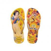 4d72799ca Chinelo havaianas princess infantil amarelo -
