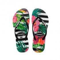 71789e6c432 Chinelo havaianas slim tropical floral -