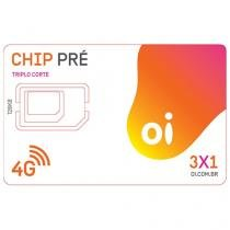 Chip Oi 3 em 1 Pré - DDD 19 SP Tecnologia 4G