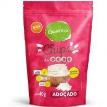 Chips de Coco Adoçado Qualicoco 40g -