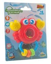 Chocalho amigos do mar sirizinho zoop toys zp0014 -
