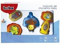 Chocalho Baby 4 Peças - Buba Toys