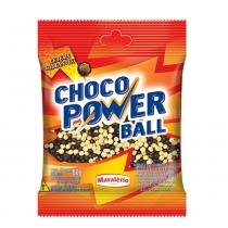 Choco Power Ball Médio Sortido 80g - Mavalério - Mavalerio