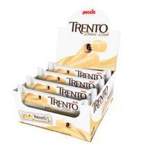 Chocolate Branco Com Wafer Trento Recheio Chocolate C/16 - Peccin -