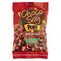 Chocolate de Soja Choco Soy Pops Zero 40g - Olvebra -