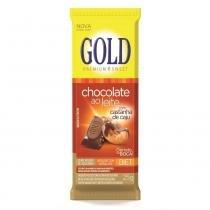 Chocolate gold diet com castanha de caju 25g -