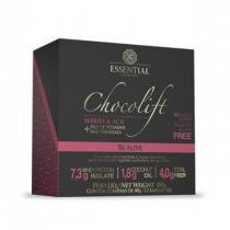 Chocolate Proteico CHOCOLIFT BE ALIVE - Essential Nutrition - Display c/ 12 Barras (Berries e Açaí) -