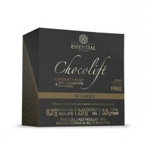 Chocolate Proteico CHOCOLIFT BE UNIQUE - Essential Nutrition - Display c/ 12 Barras (Cacao) -