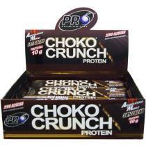 Choko Crunch Protein Barra de Proteína 12 Unidades - Chocolate Amargo - Pró Premium Line