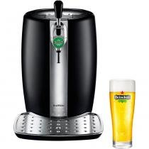 Chopeira Elétrica Krups Beertender B100 com Refrigeração - Exclusiva Heineken -