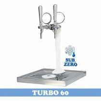 Chopeira Naja 2 Vias Sub-Zero - Turbo 60 - Torre Congelada - Maxbeer chopeiras