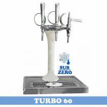 Chopeira Naja 3 Vias Sub-Zero - Turbo 60 - Congelada - Maxbeer chopeiras
