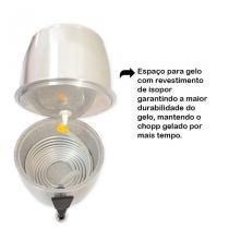 Chopeira Portátil 5,1 Litros a Gelo Vemelha BHM - Decore fácil shop