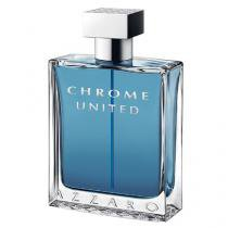 Chrome United Azzaro - Perfume Masculino - Eau de Toilette - 50ml -