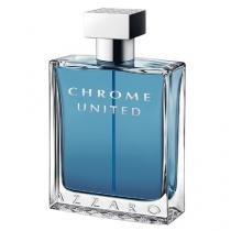 Chrome United Azzaro - Perfume Masculino - Eau de Toilette - 50ml - Azzaro